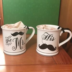 The Mr. & His coffee cups